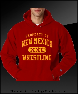 NEW MEXICO WRESTLING Pullover Sweat Design Zoom